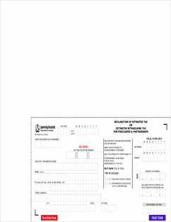 Form PA-40ESR_FC Fillable Declaration of Estimated Tax or ...