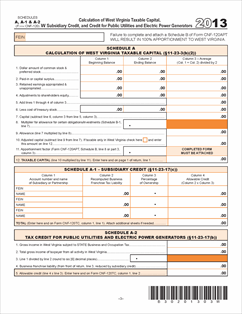 Income Tax Forms: Wv Income Tax Forms