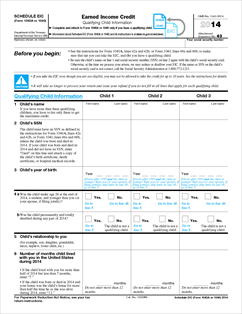 Printables 2014 earned income credit worksheet agariohi for 1040 earned income credit table 2014