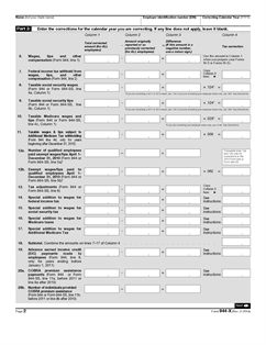 Form 944-X Fillable Adjusted Employer's Annual Federal Tax Return ...