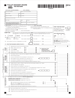 2014 md estimated tax forms
