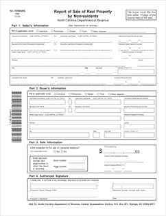 Form NC-1099 Report of Sale of Real Property by Nonresidents web ...