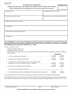 Form OW-9-MSE Fillable Annual Withholding Tax Exemption ...