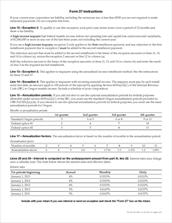 Form 37 Fillable Underpayment of Oregon Corporation Estimated Tax