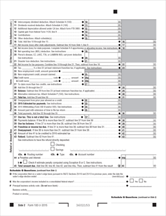 partnership tax return instructions 2015