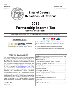 Form IT-711 Fillable Partnership Income Tax Booklet