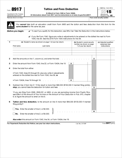 Form 8917. Pdf form 8917 department of the treasury internal.