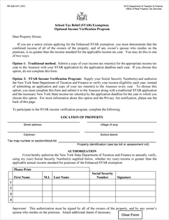 Form RP-425-IVP Fillable School Tax Relief (STAR) Exemption ...