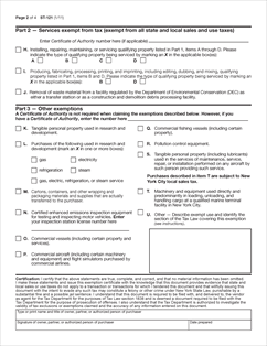 Form ST-121 Fillable New York State and Local Sales and Use Tax ...