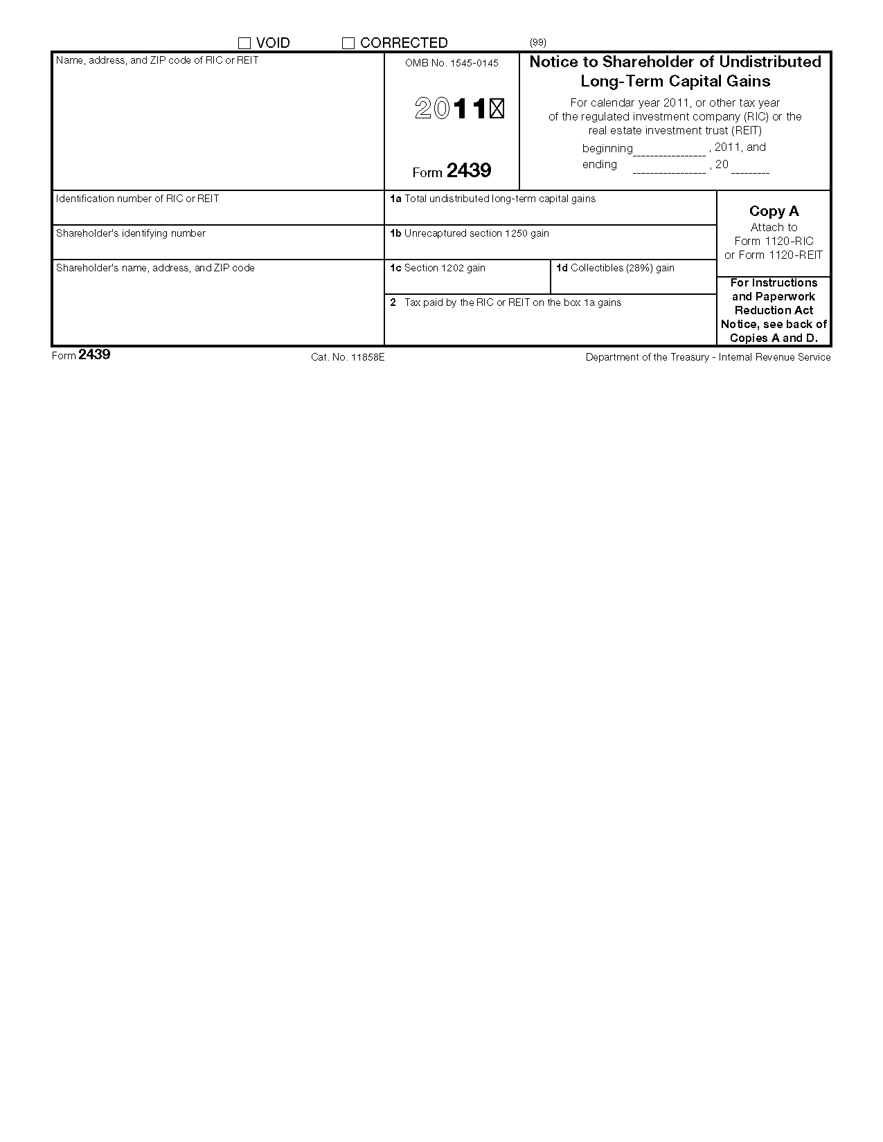 tax form 2439 - Timiz.conceptzmusic.co